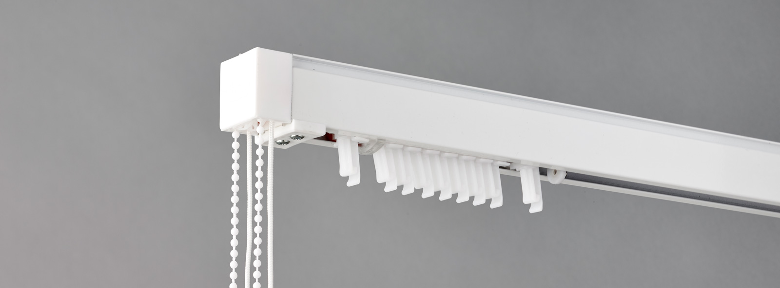 The Tiltrak 1000 Vertical Blind Headrail System