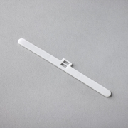 Slat Holder - Double White 127mm