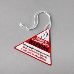Safety Device Warning Tag