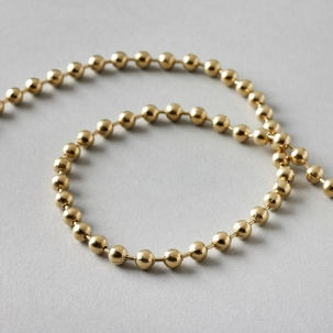 Endless Chain No.10Ls Brass 1000mm