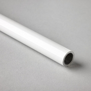 White Double Roller Blind Bottom Tube
