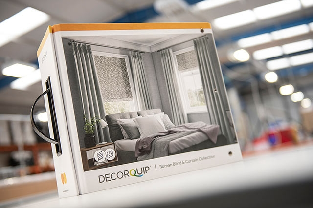Decorquip Roman Blind & Curtain Collection