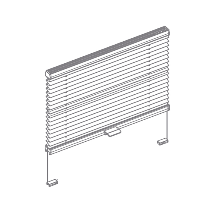 Tensioned Pleated Blind