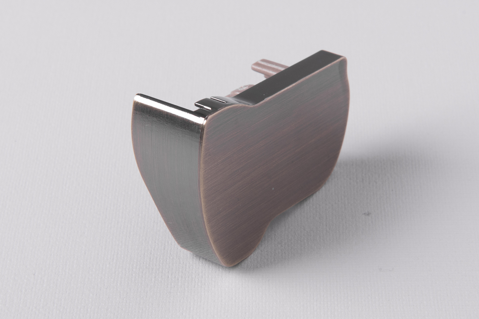 Senses Vertical HR Bronze End Cap