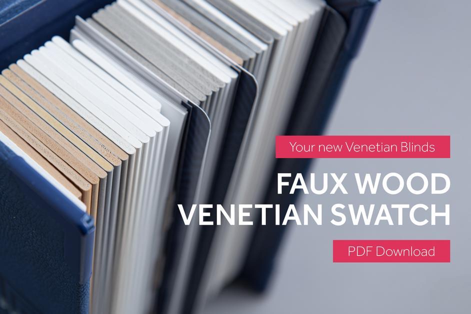 PDF Faux Wood Venetian Swatch