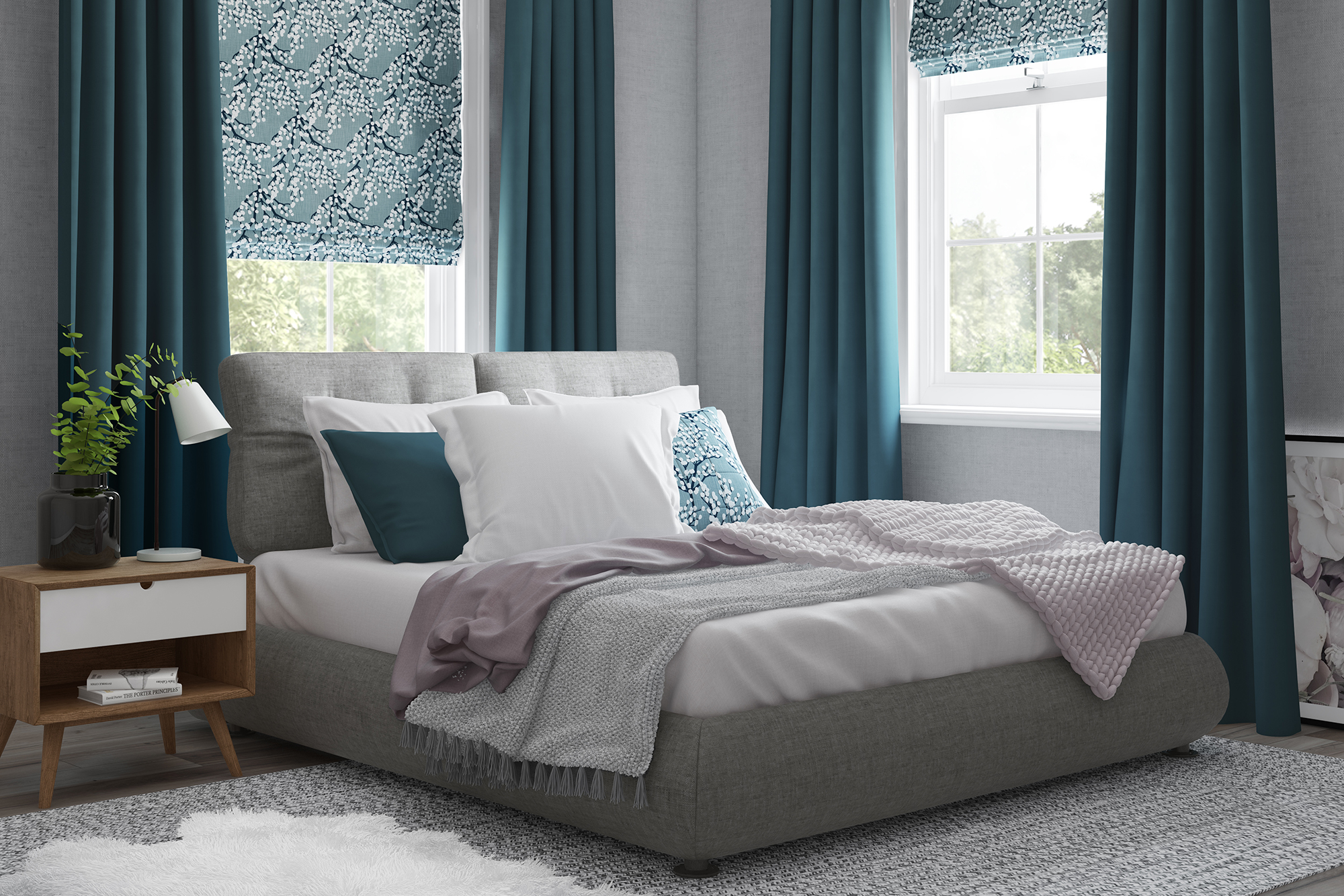 Soft Styled Bedroom Curtains Decorquip
